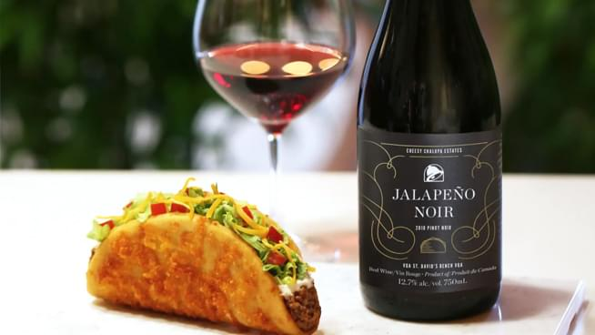 Taco Bell Launches New Wine: Jalapeno Noir