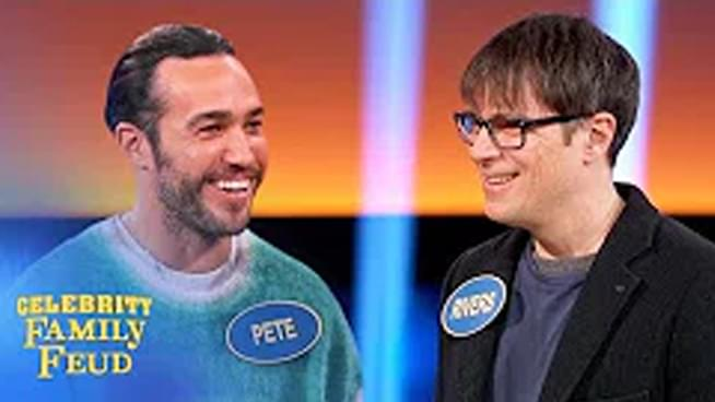 Weezer and Fall Out Boy 'Family Feud' Episode Spawns Very Awkward Hug