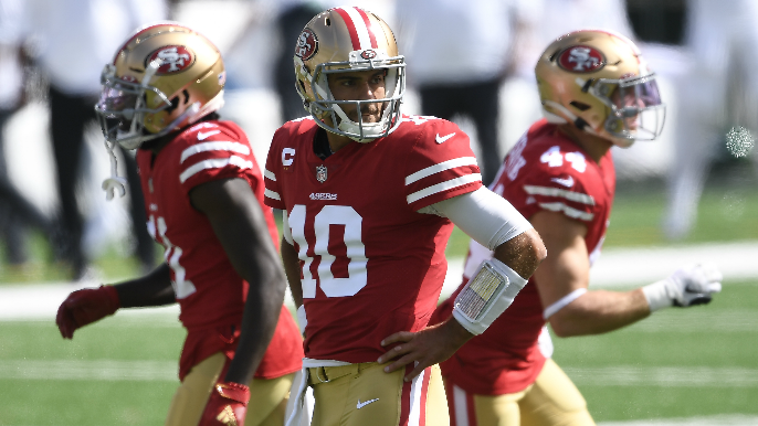 49ers get encouraging news only for Garoppolo, as broken MRI truck delays some injury results