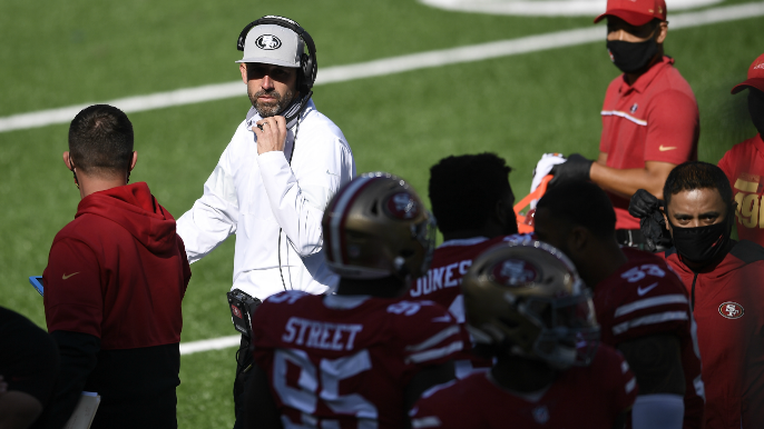Kyle Shanahan, 49ers receive substantial fines for not wearing masks [report]