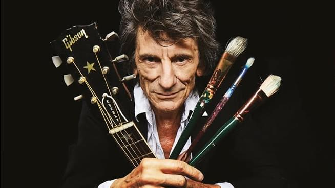 """Enter for a Chance to Win Ronnie Wood: """"Somebody Up There Likes Me"""""""