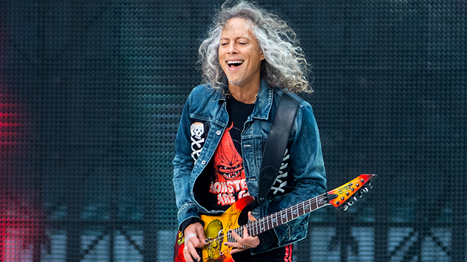 Kirk Hammett Apparently has the Best Weed Ever