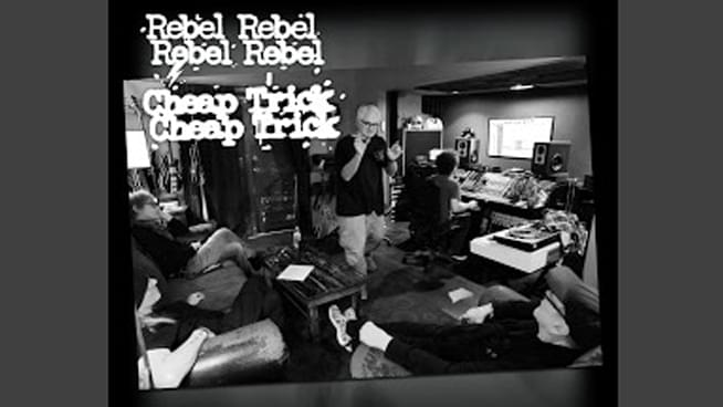 "Cheap Trick Covers David Bowie's ""Rebel Rebel"""
