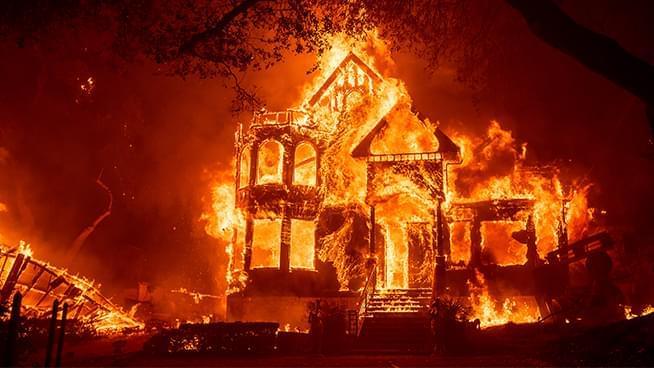 Mandatory Evacuations in Sonoma and Napa County