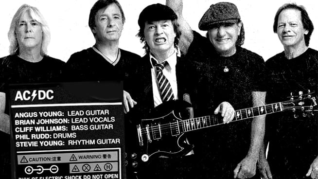 AC/DC Reunites With Brian Johnson, Phil Rudd and Cliff Williams; Announces New Album 'PWR/UP'