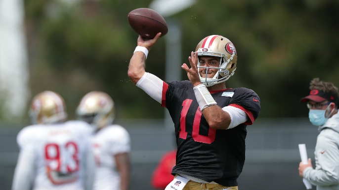 49ers Notebook: Injuries, the QB situation and Florida Governor offering max capacity at football games