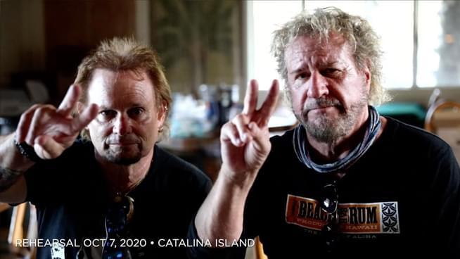 Sammy Hagar & Michael Anthony share touching video tribute to Eddie Van Halen
