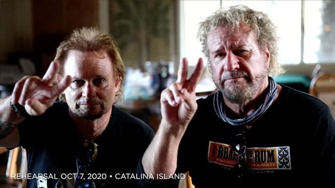 Sammy Hagar & Michael Anthony share touching video tribute to Eddie Van Halen
