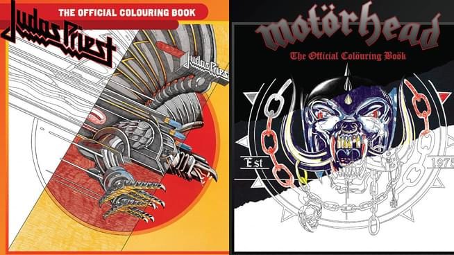 Judas Priest and Motörhead: The Coloring Books You Didn't Know You Needed