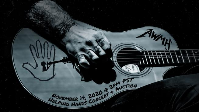 "Be Apart of the Virtual Fan Wall for Metallica's ""Helping Hands"" Benefit LiveStream"
