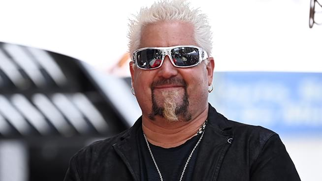 Guy Fieri Served 2,000 Meals To First Responders Battling CA's Glass Fire