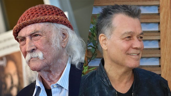 David Crosby's 'Meh…' Has Caused Outrage Amongst Eddie Van Halen's Fans