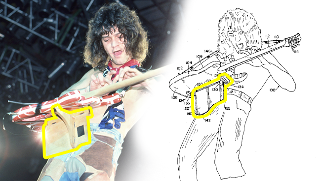 One Of A Kind Van Halen Patent Going Up For Auction