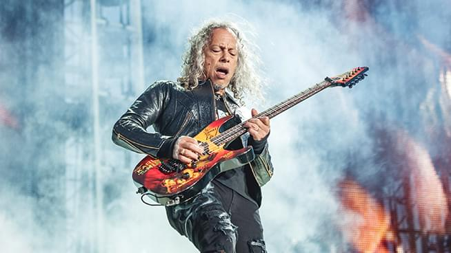 Horror-Themed Instrumentals by Kirk Hammett Coming Soon