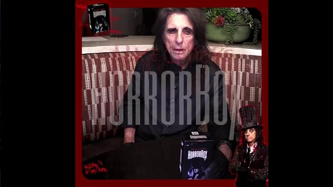 Alice Cooper Releases Haunted Card Game, HorrorBox