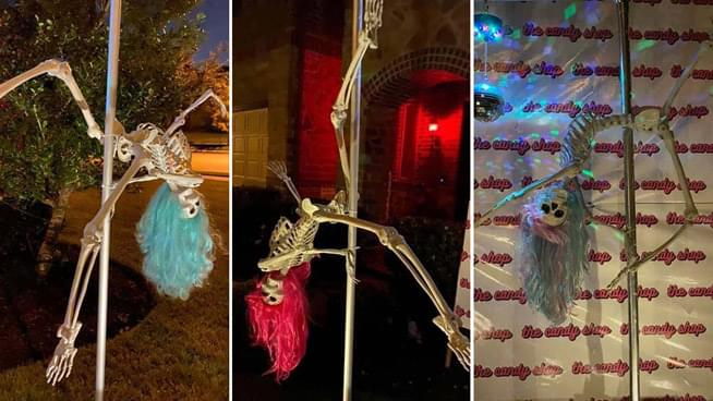 Pole-Dancing Skeletons Draws Ire of Texas Homeowner's Association