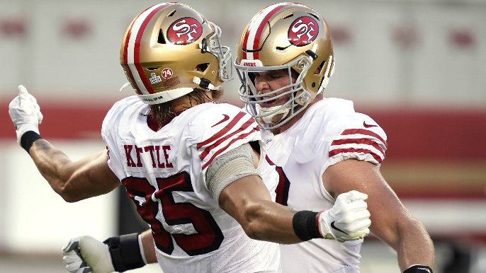 'Magic Mike' McGlinchey Talks About His 'Sexy' TD Celebrations With George Kittle