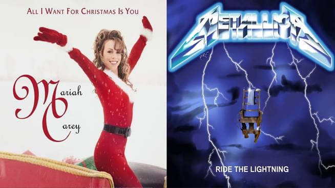 Somebody Mashed Up Mariah Carey's 'All I Want For Christmas Is You' with Metallica's 'For Whom The Bell Tolls'