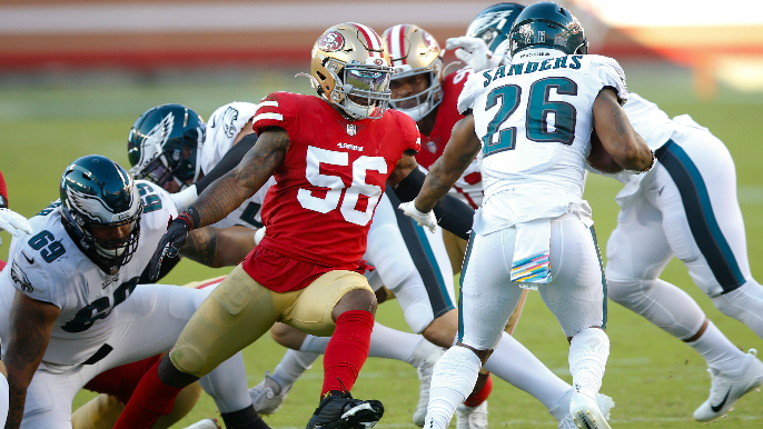 49ers trade Kwon Alexander to Saints in exchange for draft pick, veteran linebacker [report]