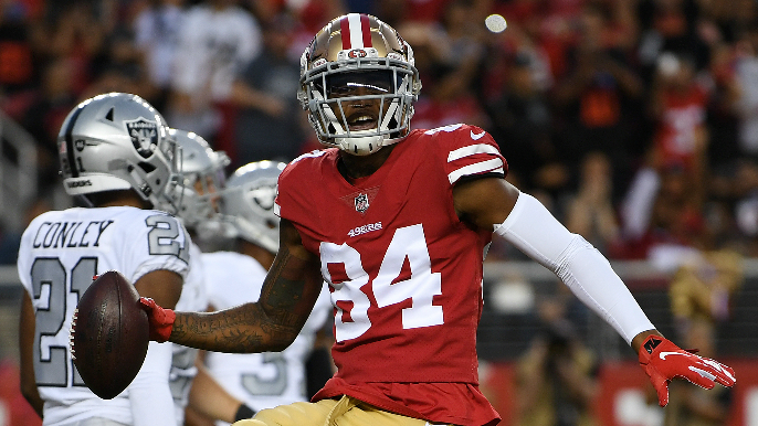 49ers close facility after Kendrick Bourne reportedly tests positive for COVID-19