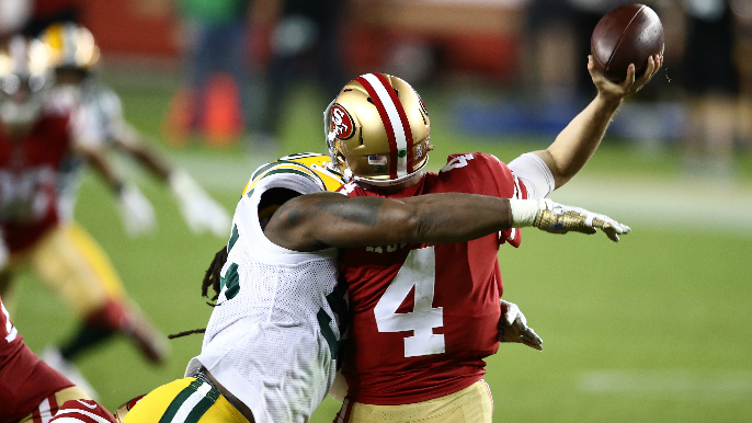 Depleted 49ers get trounced by Packers, leaving few doubts about where season's needle is pointing