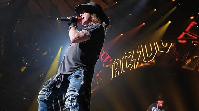 "Brian Johnson Has a ""Lot of Respect"" for Axl Rose's Work in AC/DC"