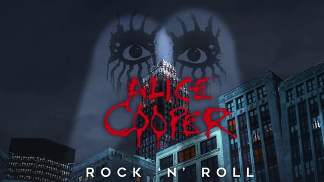 "Alice Cooper Drops A Cover Of Velvet Underground's ""Rock & Roll"""