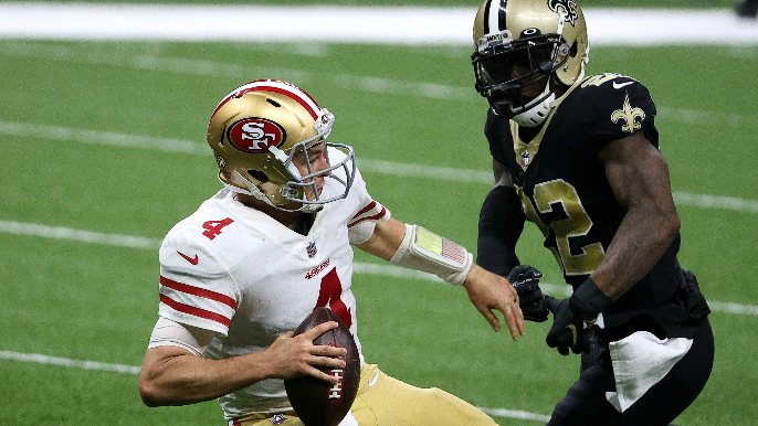 After early lead, 49ers unravel against New Orleans, as playoff prospects become exceedingly dim