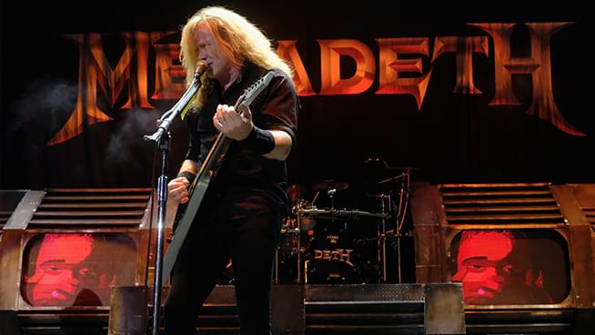 "Dave Mustaine Says New Megadeth Album is ""Getting Done"""