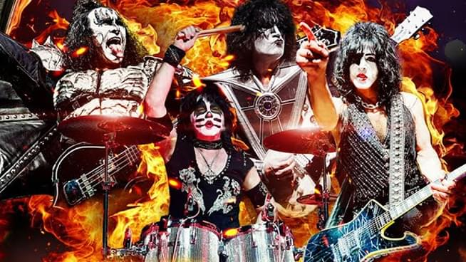 KISS Aim to Set Pyro Record for New Year's Eve