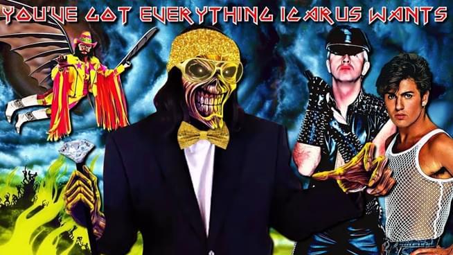 Iron Maiden, Judas Priest, and Wham Get Mashup