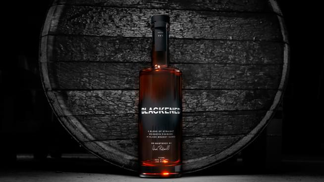 "Master Distiller Rob Dietrich Introduces The ""Fade to Black,"" Blackened American Whiskey 107.7 The BONE Cocktail"