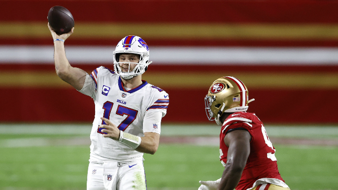 49ers out-gunned by Josh Allen and the Bills, lose first 'home game' in Arizona