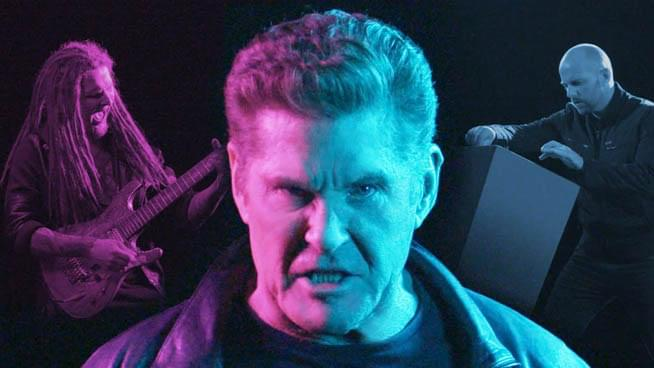"David Hasselhoff Makes Heavy Metal Debut with ""Through the Night"""