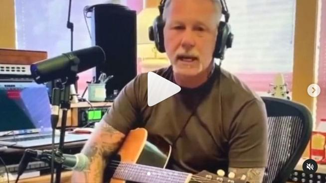 "James Hetfield Shares Acoustic Cover Of Bob Seger's ""Turn The Page"""