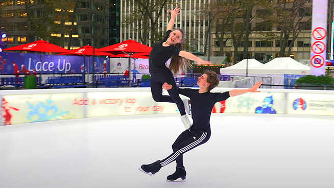 Team USA Ice Dancer's Mesmerizing Routine Set to 'Nothing Else Matters'
