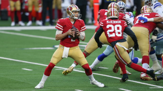 With turnover-riddled loss to Cowboys, it's finally over for 49ers