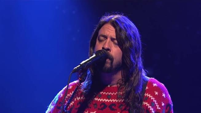 That One Christmas Dave Grohl Spent It on Mushrooms