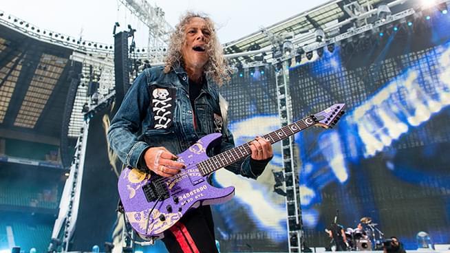 Metallica Guitarist Recalls Losing Porsche in Bet Over 'Enter Sandman'