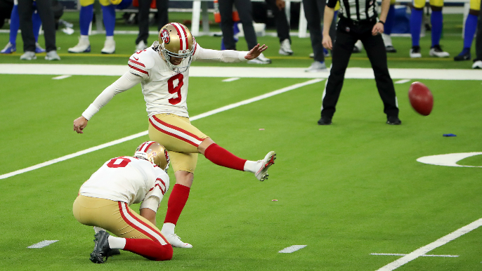 49ers extend Robbie Gould on two-year, reworked deal [report]