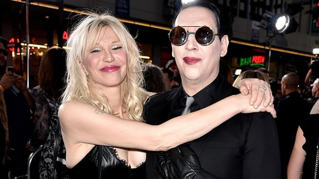 Courtney Love Says Marilyn Manson Saved Her Life