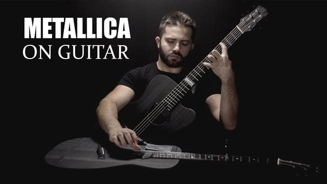 Guitarist Covers Metallica's 'Fade To Black' – By Playing Two Guitars At Once