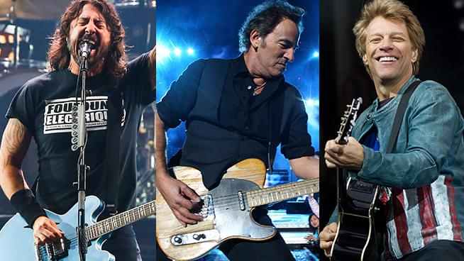 Bruce Springsteen, Foo Fighters, Bon Jovi and More Set To Play Inauguration
