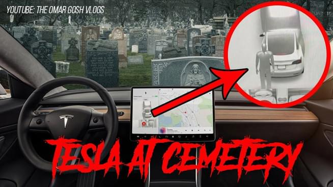 Ever Seen a Ghost? Hop in a Tesla and Let the Ghost Hunting Begin