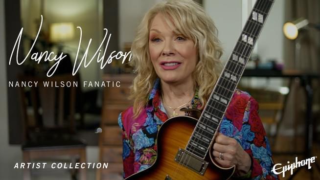 Heart's Nancy Wilson Designs New Signature Guitar
