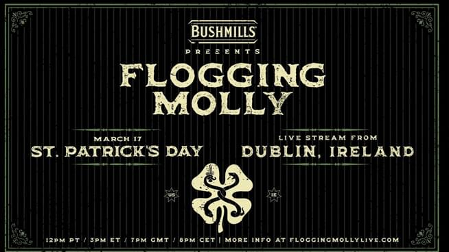 Live From Ireland: Flogging Molly Announces St. Patrick's Day Celebration