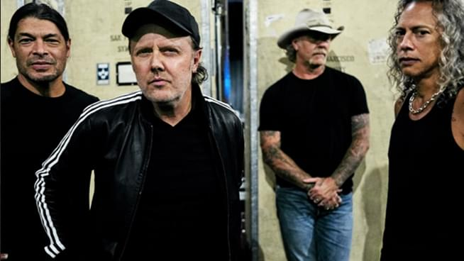 Metallica To Perform On 'The Late Show With Stephen Colbert'