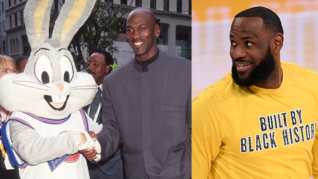 Better Than the Original? LeBron Steps into MJ's Shoes in Space Jam Sequel