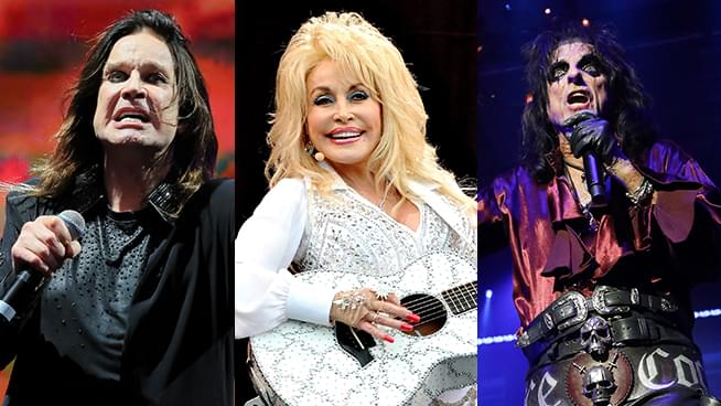 Ozzy Osbourne, Alice Cooper, Dolly Parton and More Rockstars Get Vaccinated