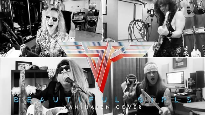 """Steel Panther Covers Van Halen's """"Beautiful Girls"""" and """"D.O.A."""""""